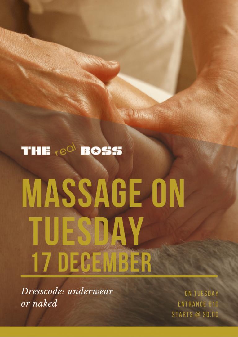 massage dinsdag the boss